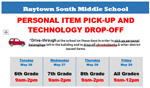 Tech Drop-off Flyer
