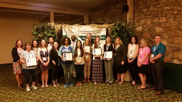 Photo of Schoolwide behavior supports award recipients
