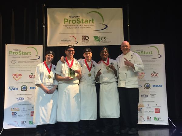 Herndon Career Center Culinary Team Wins State Competition, Qualifies for Nationals