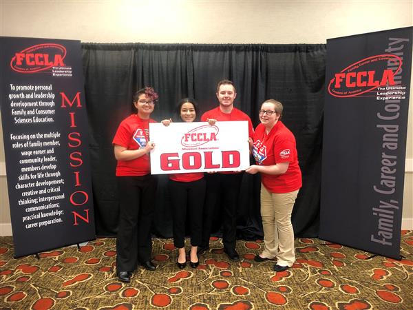 Raytown South Students Earn Gold at State FCCLA Competition and Qualify for Nationals