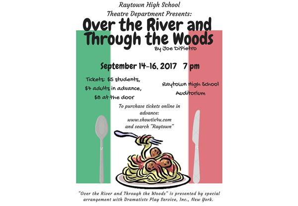 Over the River and Through the Woods Theatre Poster