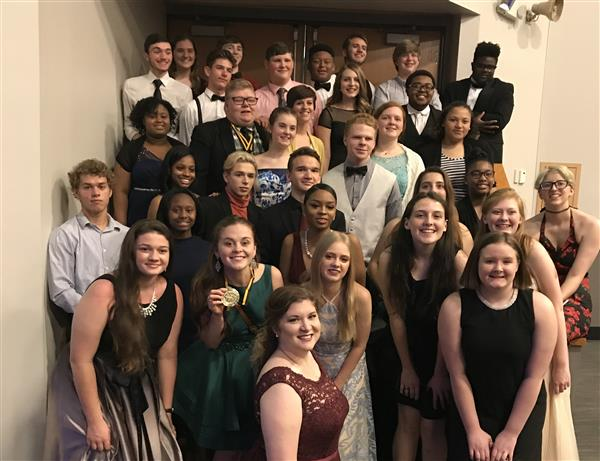 RHS students at Cappies Gala