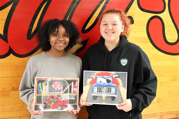 RSHS Sci-Tech Art contest winners