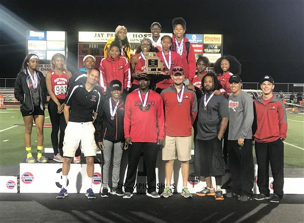 Photo of State Track and Field team